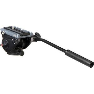 Picture of Manfrotto Lightweight Fluid Tripod Video Head with Flat Base (MVH500AH)