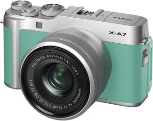 Picture of FUJIFILM X-A7 Mirrorless Digital Camera with 15-45mm Lens (Mint Green)