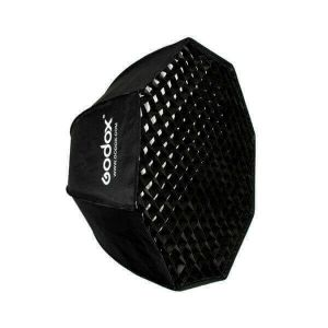 Picture of Godox SB-UE80 Octa-Softbox 80cms with Bowens Mount and Grid