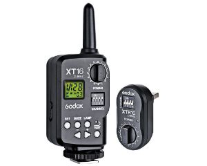 Picture of Godox XT-16 Wireless Power-Control Flash Trigger 2.4G (Transmitter and Receiver)
